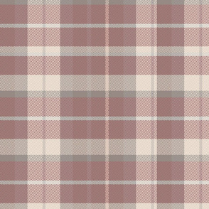 Marsala Red Plaid