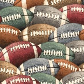 Vintage Football Sports Balls