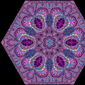 Luscious Fractal Kaleidoscope