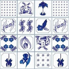 Petite Dutch Delft Tiles