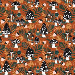 Wild Autumn Gnomes - Medium Scale