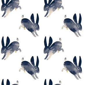 Shibori Rabbit white
