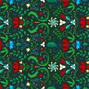 Folk Art Quetzal