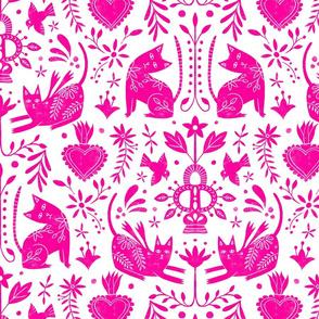 Mexican Folk Art Pink