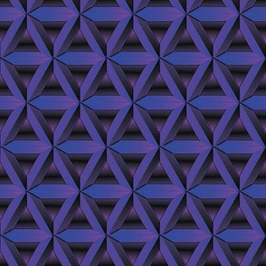 purple geometric grid by rysunki_malunki