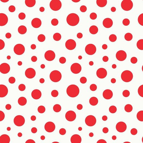 pattern-geometric-red-circles-of-different-sizes-over-beige-background