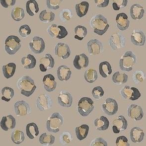 leopard print beige