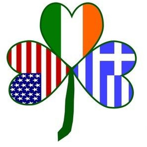 Greek Shamrock