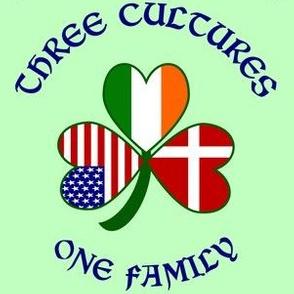 Denmark 3 Cultures Green