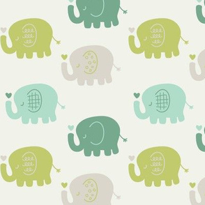 Elephants | Green