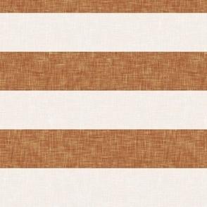 aria - stripes - fallow and cream - LAD19