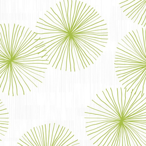 Dandelions M+M White Lime by Friztin