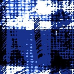 modern plaid texture navy white