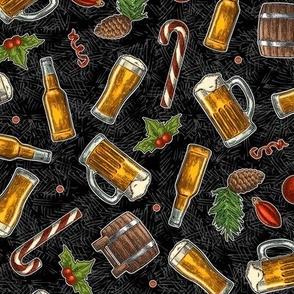 SW-Xmas Beer-Black