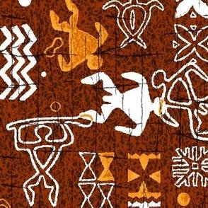 Hawaiian Petroglyphs 2a