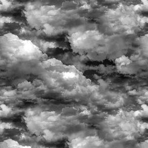 Rain Clouds - Cloudy Sky - Vape Smoke - Large Scale