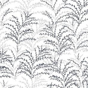 Chrysanthe Blossom - Blue Gray