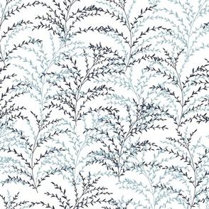 Chrysanthe Blossom Paradise-Blue