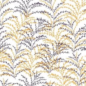 Chrysanthe Blossom-Mustard