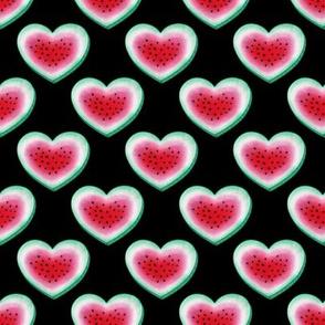 Watermelon Love - on black