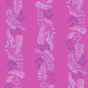Delicate Magenta Florals