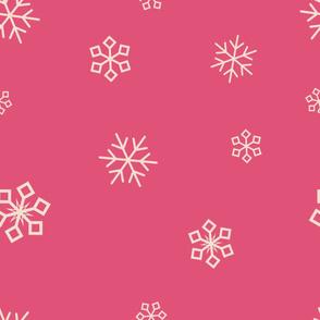 cranberry snowflakes