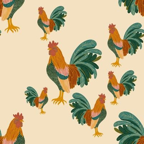 Farmhouse Roosters
