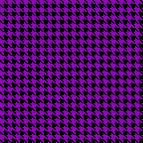 Purple Hounds Tooth