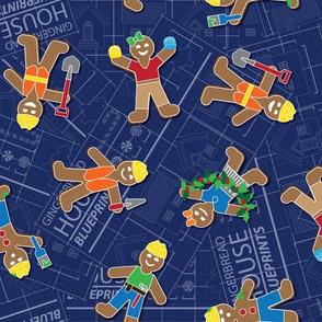 Gingerbread House Blueprints by ArtfulFreddy