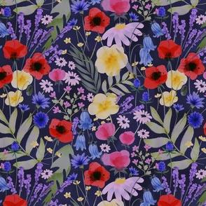 Moody Wildflowers