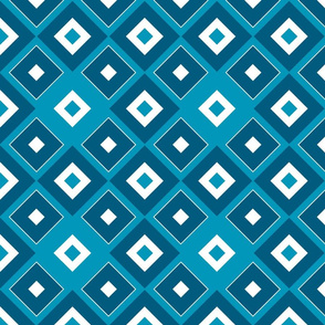 Geometric blue_03