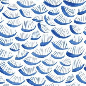 Royal Blue Shell -Like Pattern