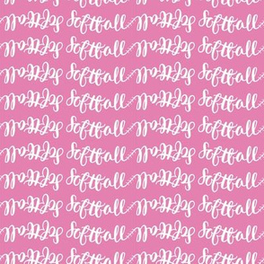 softball name in pink