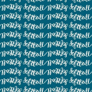 softball name in blue