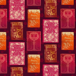 Vintage Book Covers – Gold