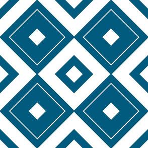 Geometric blue_08