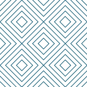 Geometric blue_09