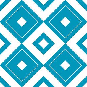 Geometric blue_010