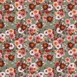 Blithe Floral Sage