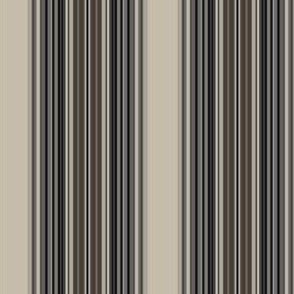 Broad Stripe in Beige, Gray, Taupe and Brown © Gingezel™ 2009
