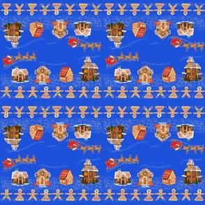 Gingerbread Town by DulciArt,LLC