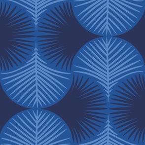 Tropical geometry - navy