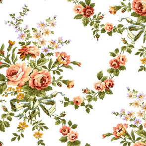 Holiday Floral Pattern 1