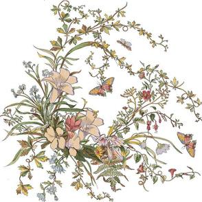 Holiday Flower Pattern 2
