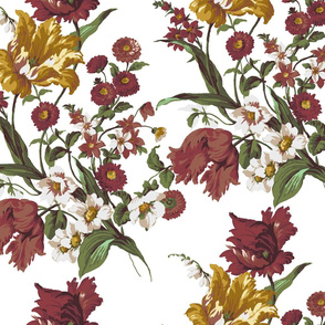 Autumn Flower Pattern 3