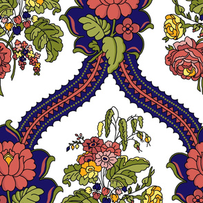Fall Floral Pattern 4