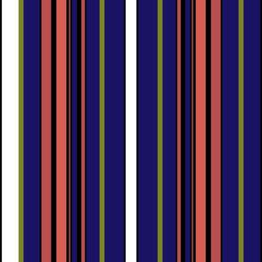 Fall Stripes Pattern 4