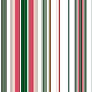 Holiday Stripes Pattern 5