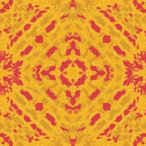 Autumn  Original Ikat Pattern 4