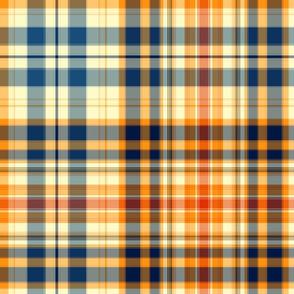 Autumn  Plaid for Original Ikat Pattern 1 & 2